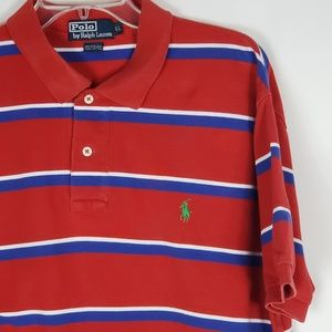 Polo By Ralph Lauren Men's Polo Shirt Striped